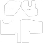 Isuzu N35 Car Mats